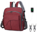Diaper Bag Backpack with Insulated Bottle Pockets Baby Nappy Changing Bags,70% off